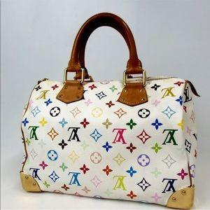 Louis Vuitton Bags - LOUIS VUITTON  multicolor Speedy 30 tote Handbag